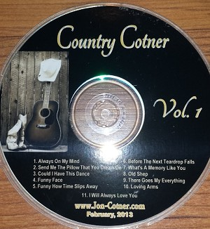 Country Cotner -  Vol. 1